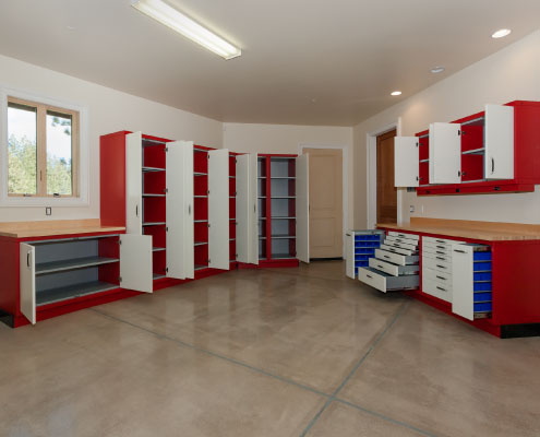 Evolution Cabinets - custom industrial cabinetry Truckee, Tahoe and Reno