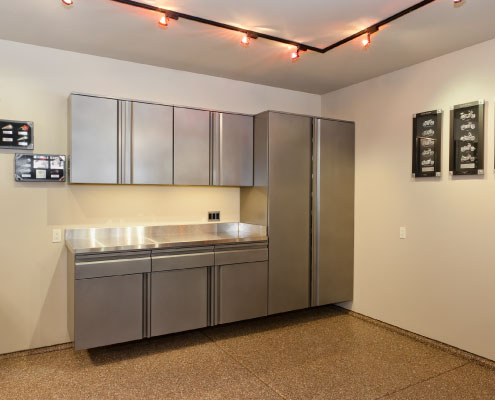Evolution Cabinets - custom commercial garage cabinetry Truckee, Tahoe and Reno